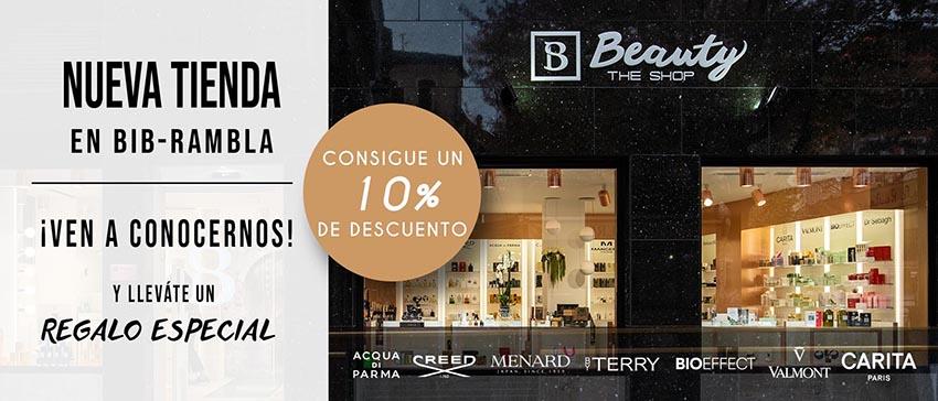 Tu Boutique de belleza en Bib-Rambla ¡Ven a conocernos!