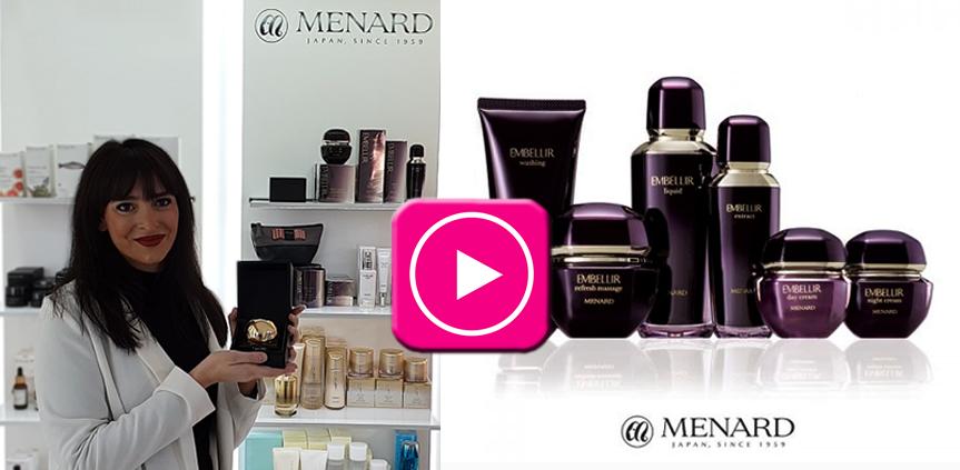 Conoce MENARD, cosmética japones de lujo
