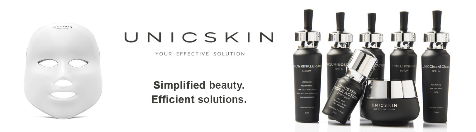UNICSKIN, the effective solution for your skin