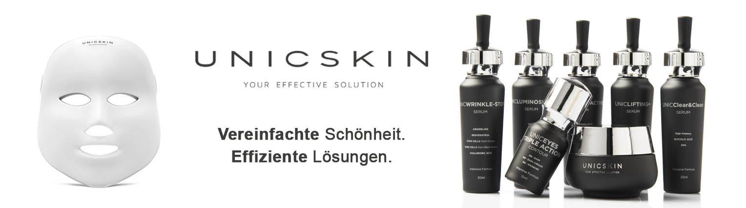 UNICSKIN, die effektive Lösung für Ihre Haut
