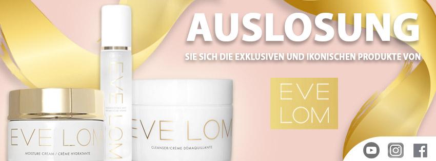 Holen Sie sich die exklusiven und ikonischen Produkte von EVE LOM, Naturkosmetik KOSTENLOS