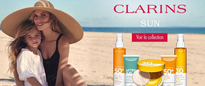 CLARINS Nouvelle gamme de produits solaires haute protection
