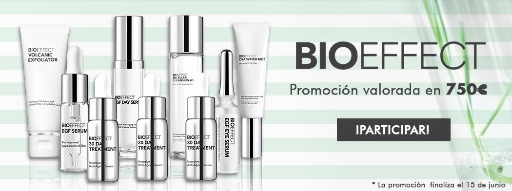 Consigue tu rutina BIOEFFECT valorada en 750€ ¡Participa en nuestra promoción!