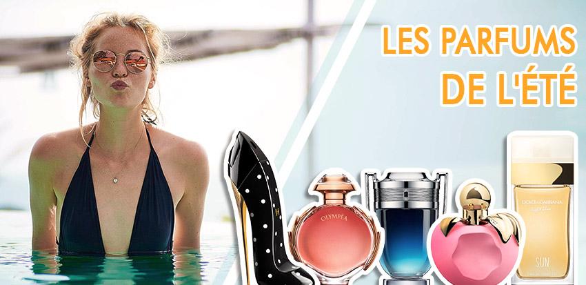 Les parfums de l'été 2019