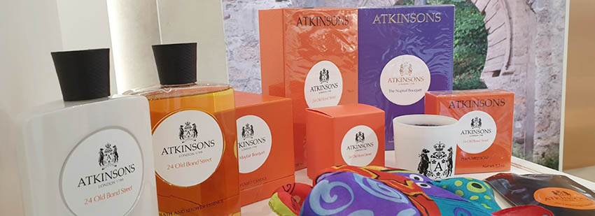 ATKINSONS official perfumer of the British Royal Family - Promotion valued at £ 400