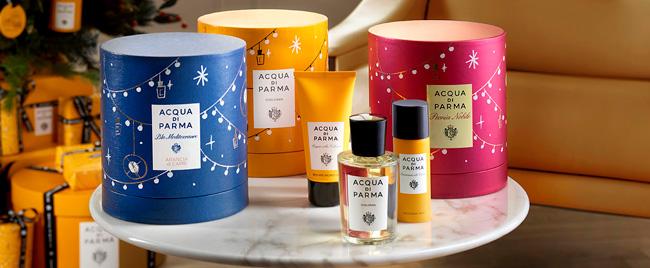 Entdecken Sie dieses Weihnachten das italienische Universum aus der Hand von Acqua Di Parma