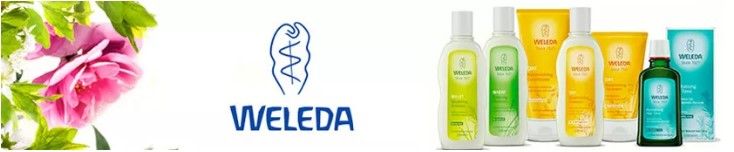 Weleda, natural and 100% organic cosmetics