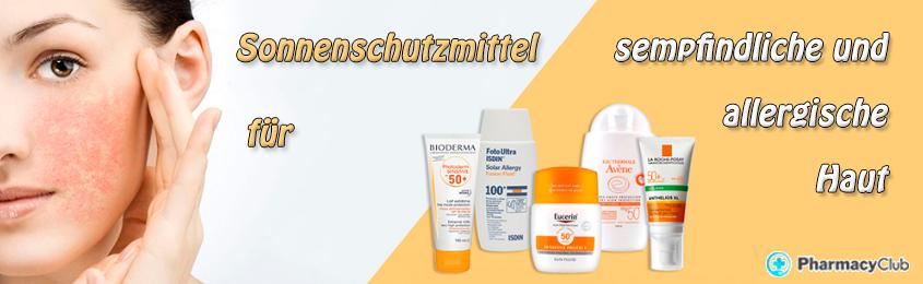 Verzichte nicht darauf, die Sonne zu genießen! Sonnenschutzmittel für empfindliche und allergische Haut