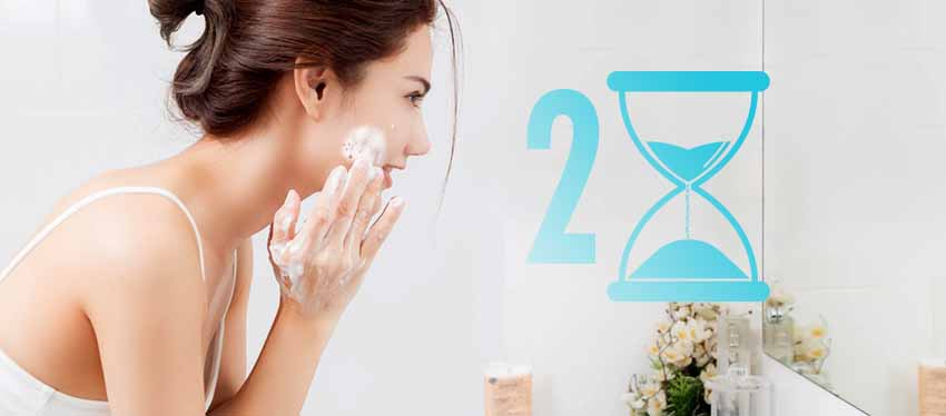 Give 2 minutes of Spa to your skin